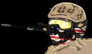 Usaball sniper by Venezuelaball