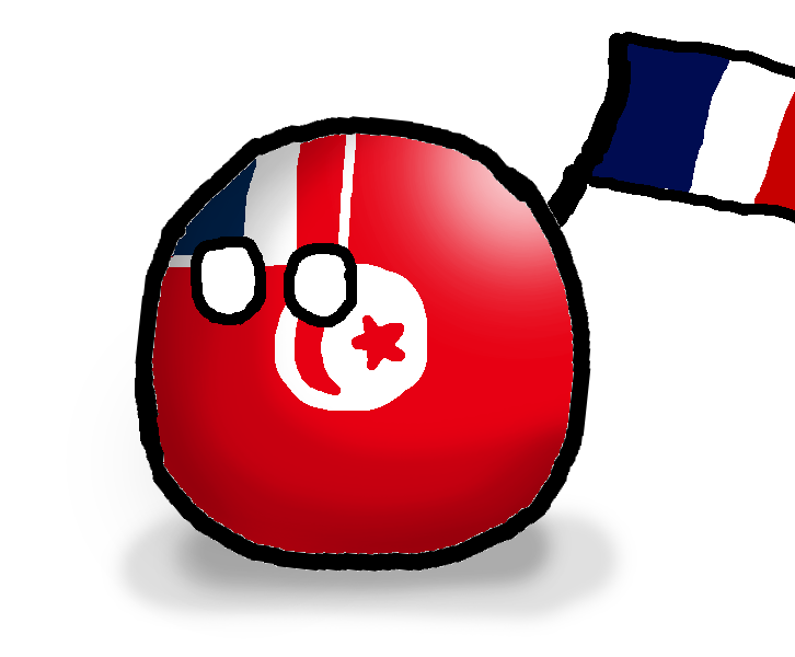 French Tunisiaball