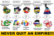 Never Quit An Empire