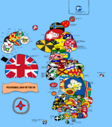 Polandball map of the UK. by LavaMeteor