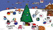 Polandball holiday mayhem