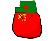 China With Green Hat
