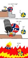 How Norway Fries Eggs