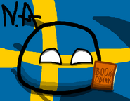 Swedenball with his Book of Bork(Background)