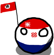 Independent State of Croatiaball
