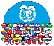 United for peace and freedom - the founding members of the United Nations