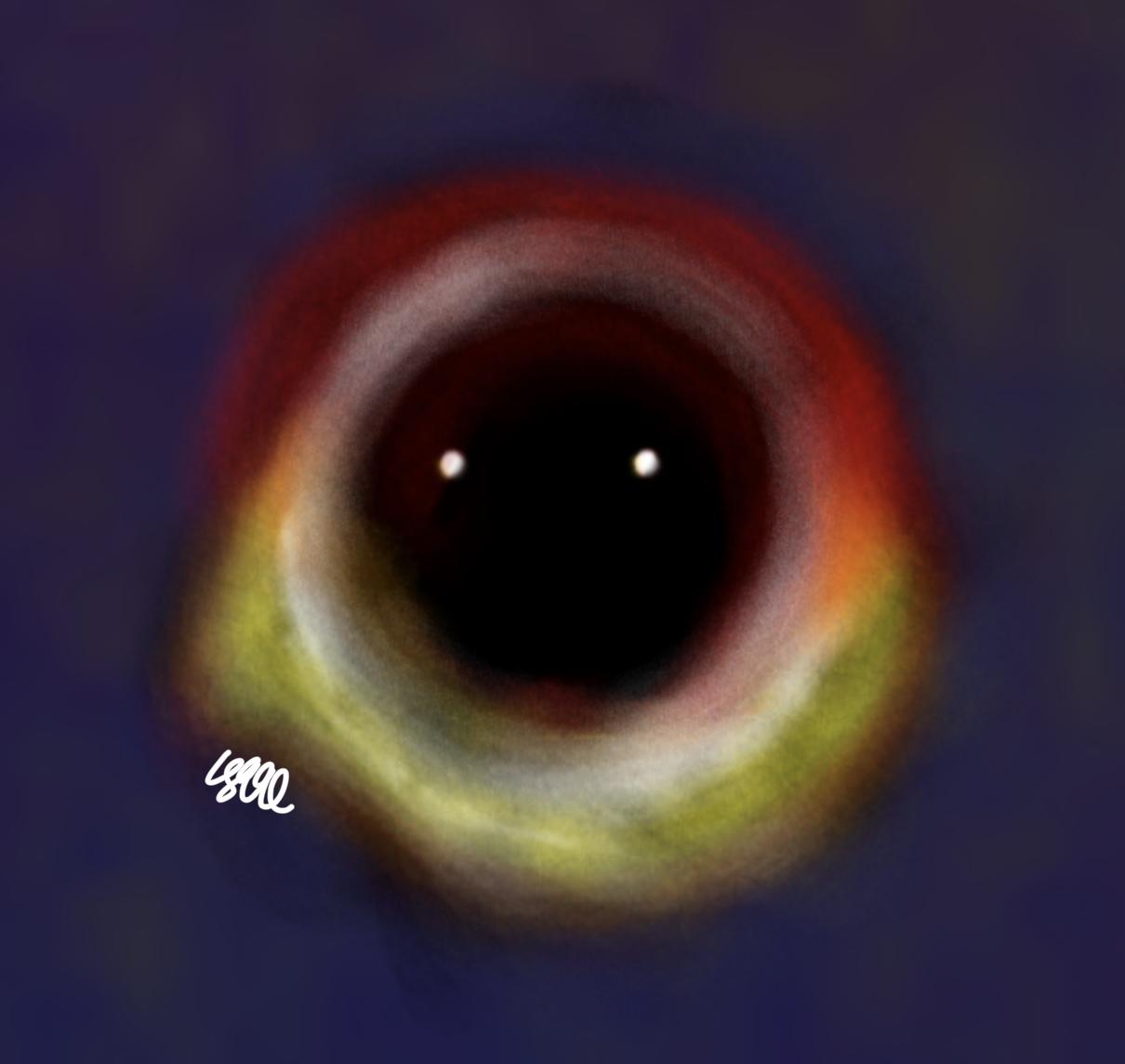 M87 Supermassive Black holeball