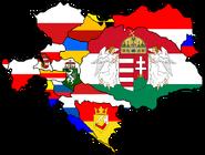 Austria hungary flagmap by fenn o manic-d4mbvem