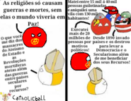 Catolicismoball vs ateísmo de estado