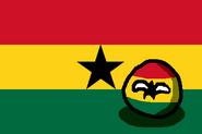 GhanaBall (CountryBall & Flag)