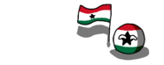 GhanaBall (CountryBall Waving it's Flag,1964 - 1966)