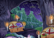 Comfy in the Chilly Cave by Social Yoshi