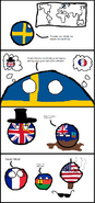 Sweden wishes for Colonies