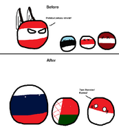 Comic (Poland-Lithuania - Poland - Estonia - Belarus - Russia - Latvia)