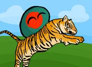 Bangladesh riding a tiger