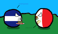 Batalla de Comidas (Mexicoball and El Salvadorball)