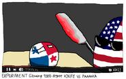 Раскальный нож против Панамы