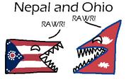 Nepal and Ohio
