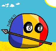 Countryballs chadball