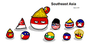 Southeast Asia Polandball