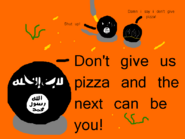 ISIS and the pizza