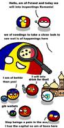Romaniaball regions