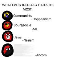 Every ideology hates