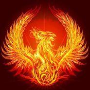 Asylum Of The Phoenix Flag
