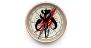 Mandalorian Compass Flag