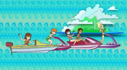 Polly and the Pockets Boats and Jet Skis
