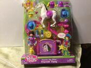 Polly Pocket Dazzlin' Pet Show Prancin' Pony Kerstie