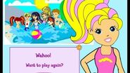 Polly pocket pool party - childhood games