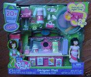 Polly Pocket Designer Mall Accessory Cart Ana