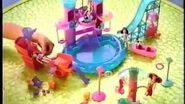 Polly Pocket Wild Waves Castle and Sets Commercial (2004)
