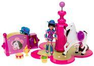 Polly Pocket Dazzlin' Pet Show Prancin' Pony Kerstie Doll