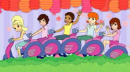Polly and the Pockets motor bike things