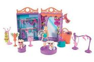 Polly Pocket Sparklin' Pets Dress Up Polly Doll and Pets