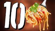 10 PYSZNYCH faktów o spaghetti TOPOWA DYCHA