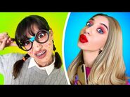 KUJONKA vs LASKA! Jak być popularną - Śmieszne szkolne sytuacje i hacki od La La Lajf Musical