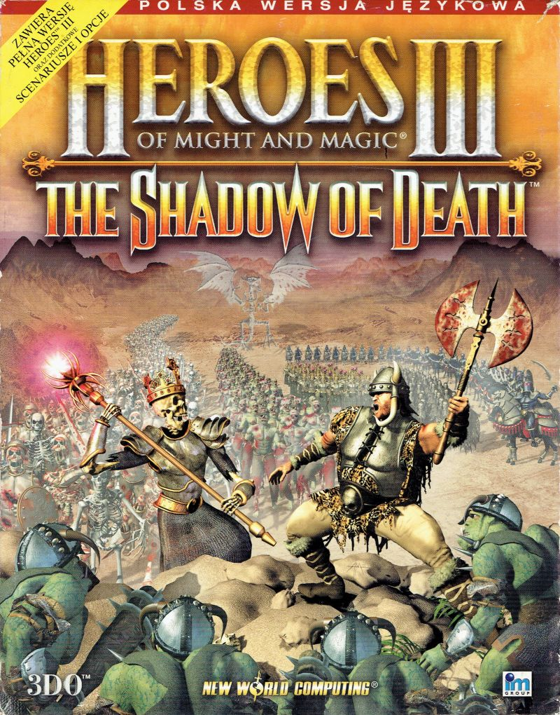 Heroes of Might and Magic III: The Shadow of Death (wersja premierowa)
