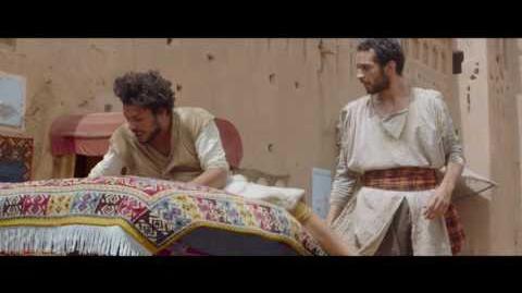 """Nowe przygody Aladyna – fragment """"Latający dywan"""""""