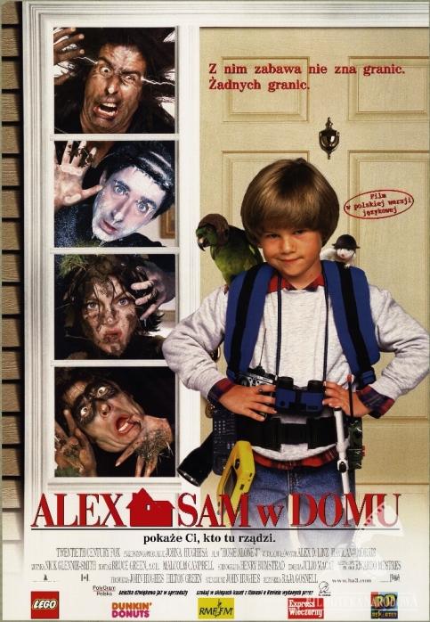 Alex sam w domu