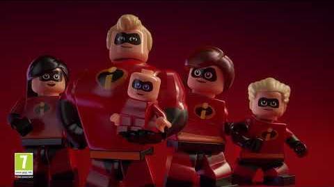 LEGO Iniemamocni (zwiastun ogłaszający grę)