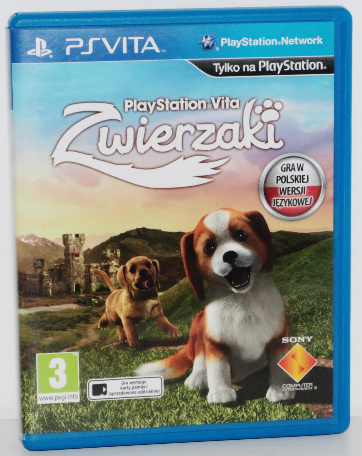 PlayStation Vita Zwierzaki
