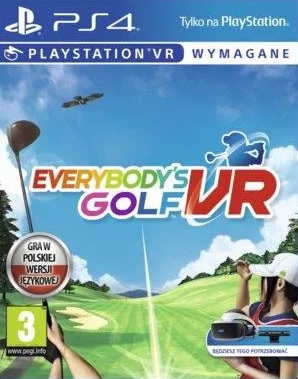 Everybody's Golf VR