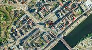 Google Earth Okolice katedry teraz