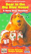 Bear in the Big Blue House- A Berry Bear Christmas VHS (UK)