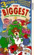 The Biggest Ever Christmas Video (UK VHS 1993)