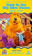 Bear in the Big Blue House- Dance Fever VHS (UK)
