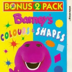 Barney's Colours and Shapes